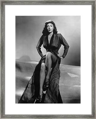 Force Of Evil, Marie Windsor, 1948 Framed Print by Everett