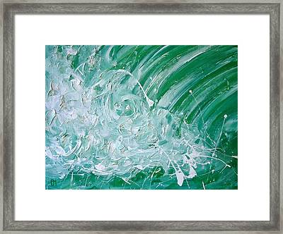 Force Of Nature II Framed Print by Pete Maier