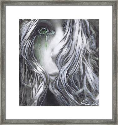 Forced  To See Framed Print by Renee Catherine Wittmann
