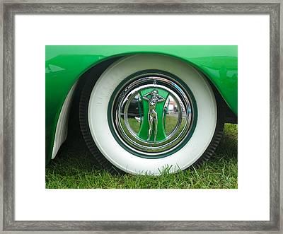 Framed Print featuring the photograph Ford 1946 by Anna Ruzsan