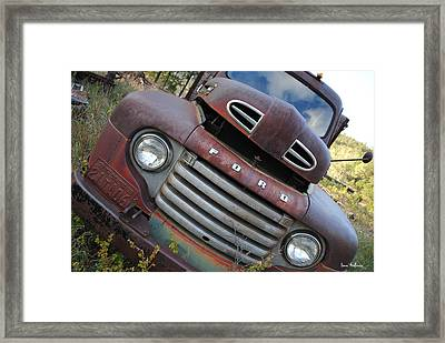 Ford Framed Print by Bonae VonHeeder