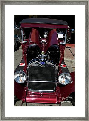 Ford Coupe Framed Print by Sean Stauffer
