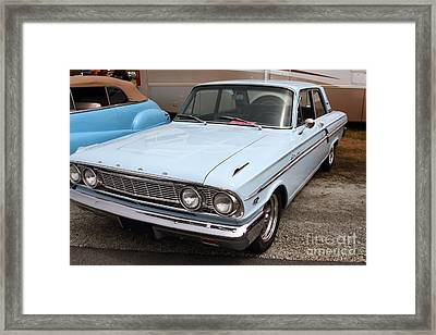 Ford Fairlane 500 . 7d15156 Framed Print by Wingsdomain Art and Photography