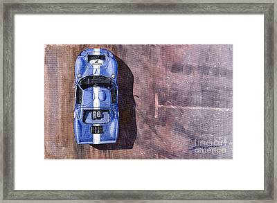 Ford Gt40 Leman Classic Framed Print