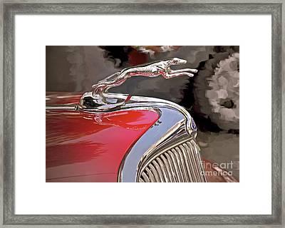 Ford Hound Framed Print by Gwyn Newcombe