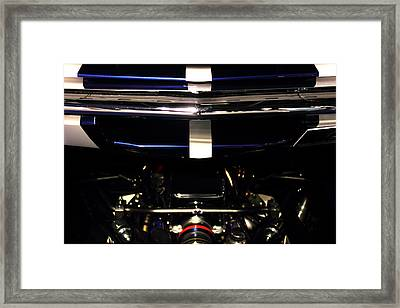Ford Mustang Front View Framed Print