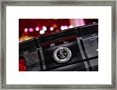 Ford Mustang Shelby Gt500 Super Snake  Framed Print by Gordon Dean II