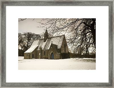 Ford, Northumberland, England Country Framed Print by John Short