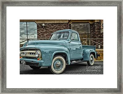 Ford Tough Framed Print by Tamera James