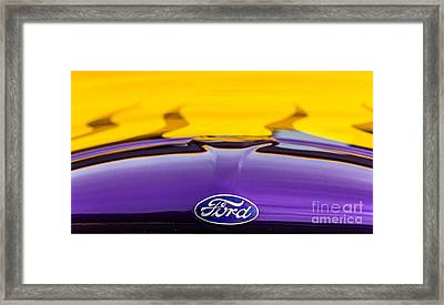 Ford Truck Framed Print by Ursula Lawrence