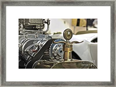 Ford Wings Framed Print by Gwyn Newcombe