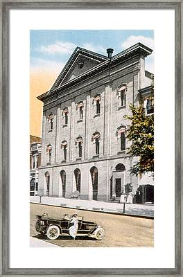 Fords Theatre In Washington, D.c Framed Print by Everett