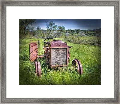 Fordson 1920 Tractor Framed Print