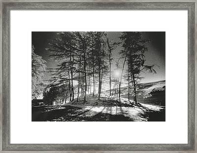 Forelacka Burial Ground Framed Print by Simon Marsden