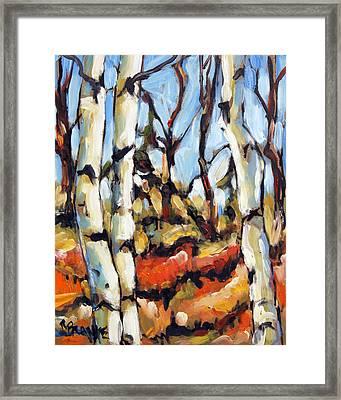 Forest Edge By Prankearts Framed Print by Richard T Pranke