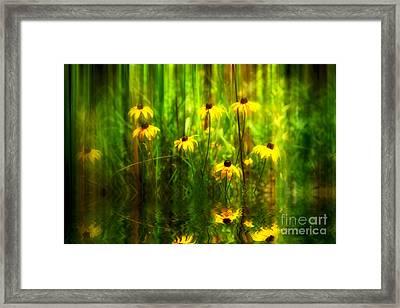 Forest Edge Framed Print by Elaine Manley