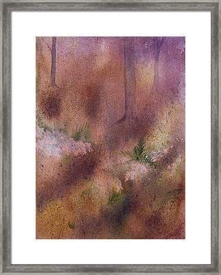 Forest Floor Framed Print by Debbie Homewood