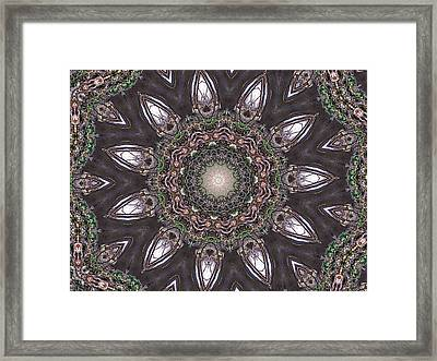 Forest Mandala 1 Framed Print