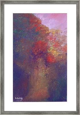 Forest Framed Print by Nabil Wehbe