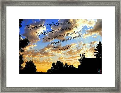Forever A Comfort Framed Print by Amanda Rose