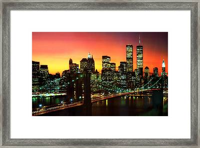 Forever In My Heart Framed Print by Aron Chervin