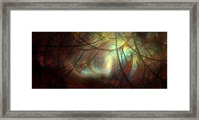 Forever Lost Framed Print by Philip Straub