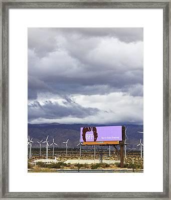 Forever Palm Springs Framed Print