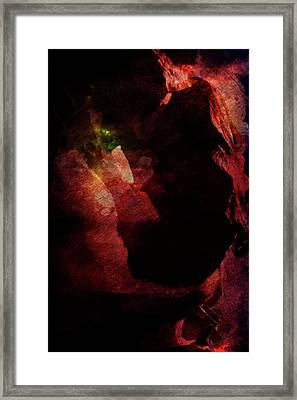 Framed Print featuring the digital art Forever Yours by Andrea Barbieri