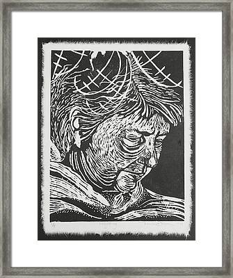 Forgetting Framed Print