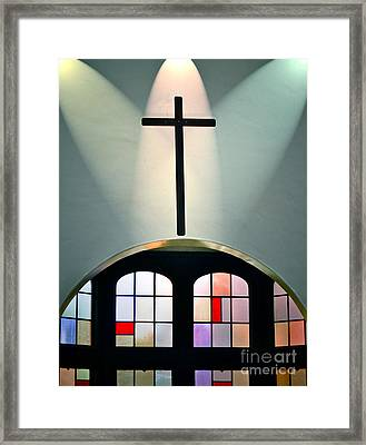 Forgiveness Framed Print by Gwyn Newcombe
