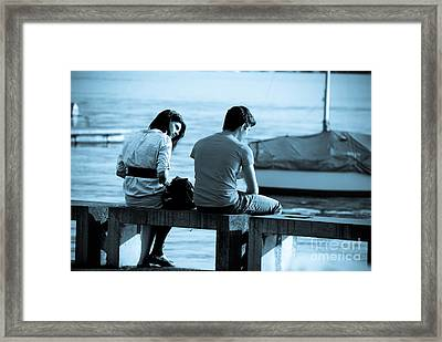 Forgiveness Framed Print by Syed Aqueel