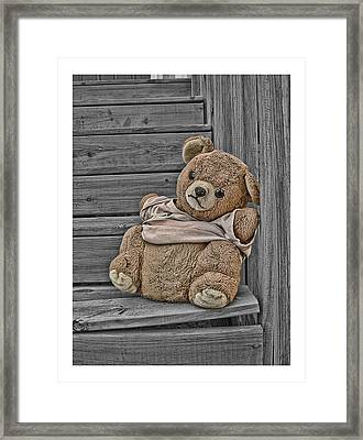 Forgotten Framed Print by Alice Link