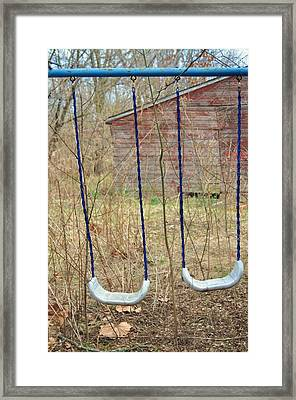 Forgotten Childhood Framed Print by Todd Sherlock