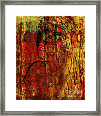 Forgotten Framed Print by Fania Simon