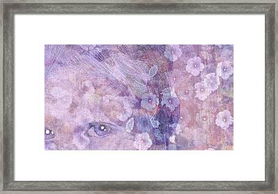 Forgotten Flowers Framed Print by Susan  Solak