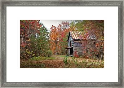 Forgotten Gristmill Framed Print