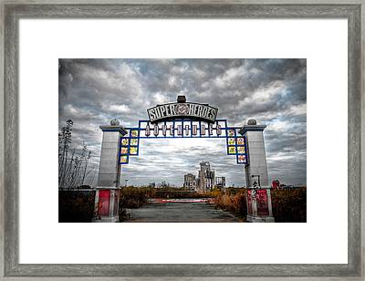 Forgotten Heroes Framed Print by Pixel Perfect by Michael Moore