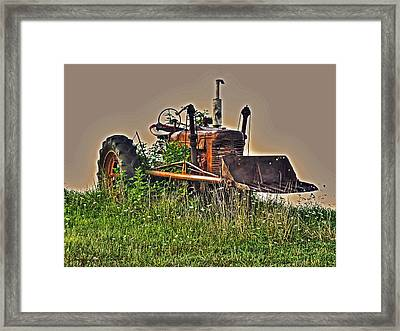 Framed Print featuring the photograph Forgotten IIi by William Fields