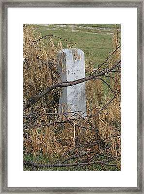Forgotten Framed Print by Judith B Adams