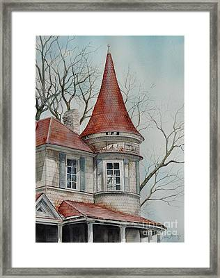 Forgotten Lady...sold Framed Print