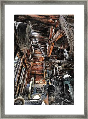 Forgotten Mill Framed Print