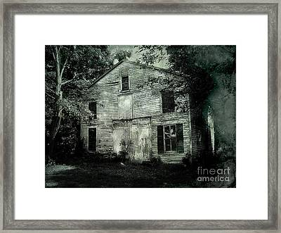 Forgotten Past Framed Print by Colleen Kammerer