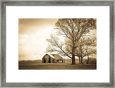 Forgotten Place Framed Print