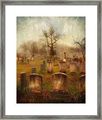 Framed Print featuring the photograph Forgotten Souls  by Karen Lynch