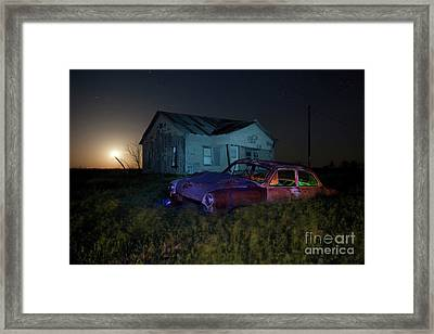 Forgotten Texas Framed Print by Keith Kapple