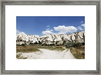 Forked Tracks Framed Print by Kantilal Patel