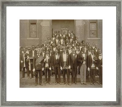 Formally Dressed African American Men Framed Print