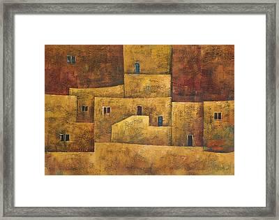 Formation Framed Print by Adeeb Atwan