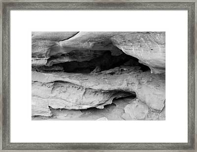 Formation Framed Print by Colleen Coccia