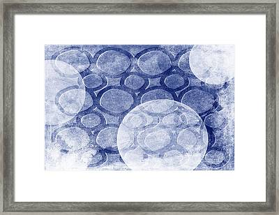 Formed In Winter Framed Print